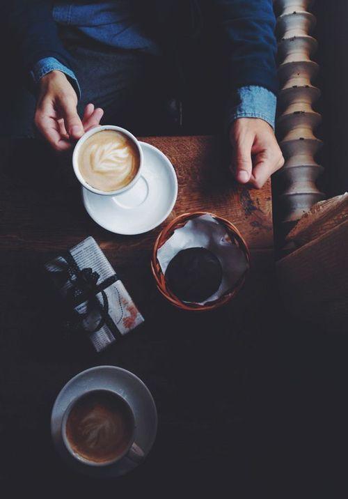 Stemning med kaffe involveret.