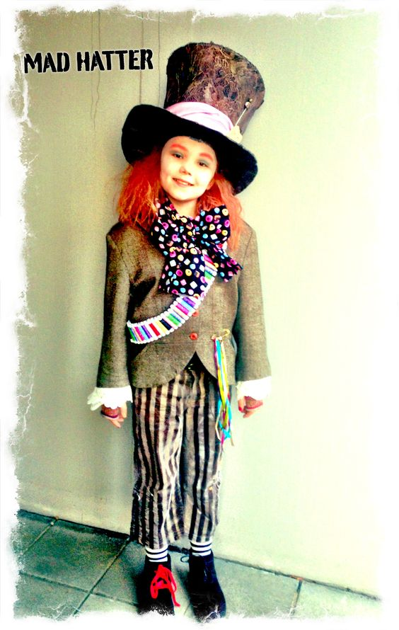 my daughter as the mad hatter diy costume costume