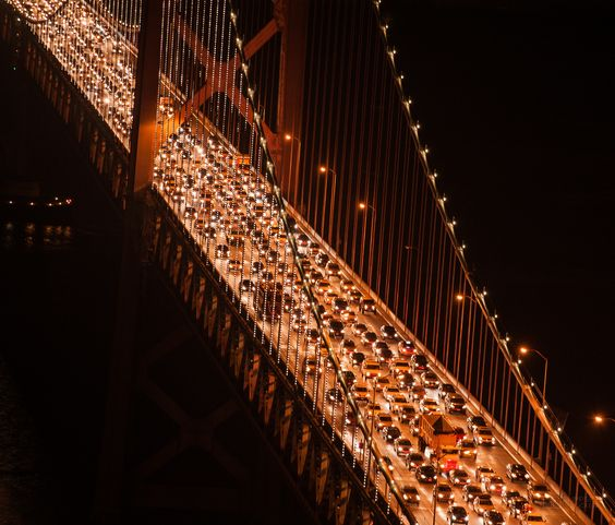 Bridge lights by Srinath Anantharaju on 500px