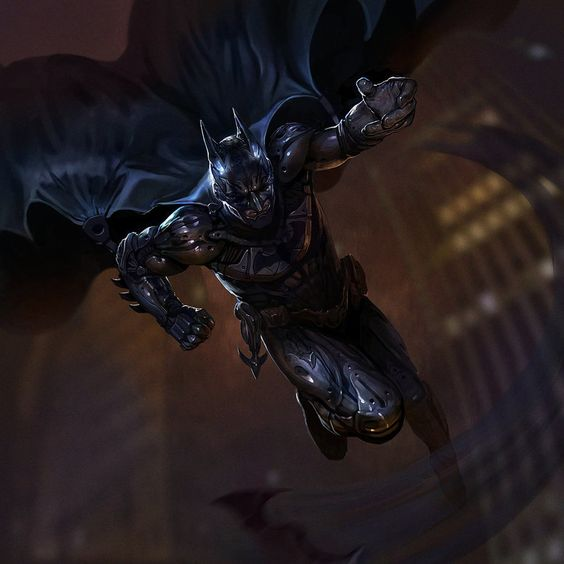 Batman fan art by Pervandr