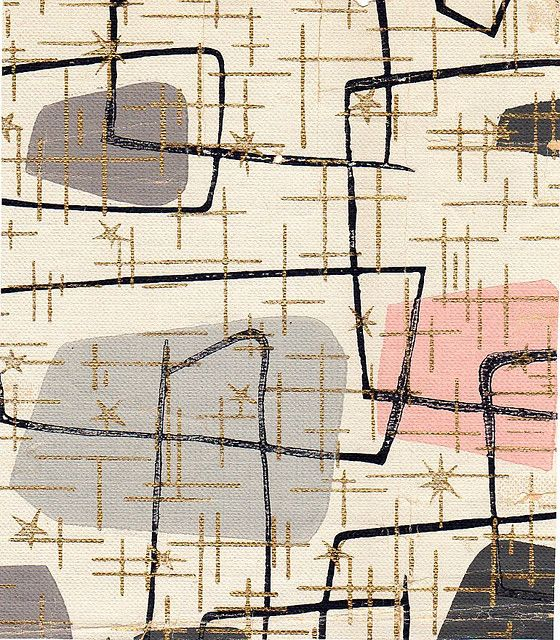 1950 39 s wallpaper 1950 39 s pinterest rosa badezimmer - Deko wallpaper ...
