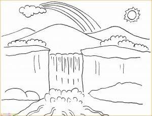 Contoh Gambar Pemandangan Sungai Sampai Sahaja Di Bahagian Atas Ada Satu Bilik Yang Boleh Dikatakan Agak Besar Juga Di 2020 Sketsa Easy Drawing Tutorial Buku Mewarnai