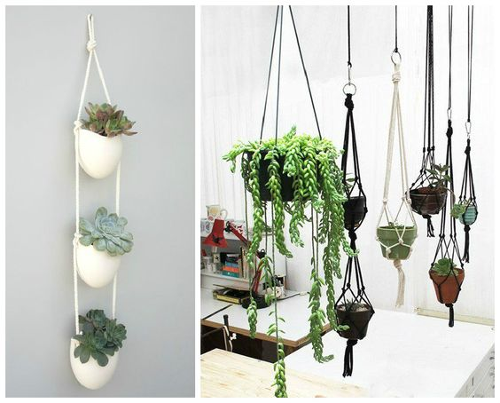 Pinterest le catalogue d 39 id es for Suspension pour plante interieur