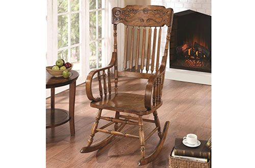 Top 10 Best Portable Outdoor Wooden Rocking Chairs Reviews In 2020