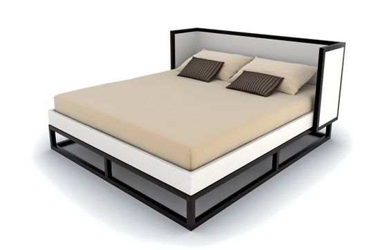 Another outlook on simplicity... WIEN Bed by Property Furniture