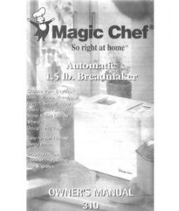 magic chef bread machine
