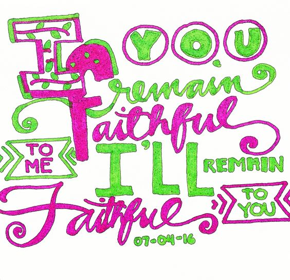 Today, I had my quiet time. So blessed that God deliver me this message! 🙌 #soblessed #faithfulGod #Godlyquote #typography #myown #Christian