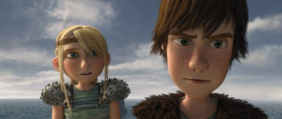 astrid from how to train your dragon | How to Train Your Dragon Hiccup and Astrid