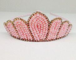 Tiara bordada Coroa 2493