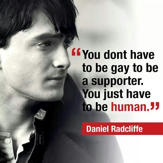 I NEED someone with a mind like Daniel's. He is pro lgbtq+, a feminist, and an atheist. The perfect combo.