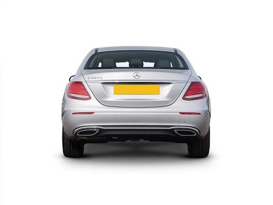 Mercedes-Benz E Class Diesel Saloon rear view