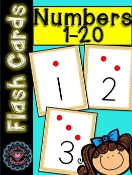 number flash cards 1 20 with dots this resource contains 20 flashcards for numbers 1 through. Black Bedroom Furniture Sets. Home Design Ideas