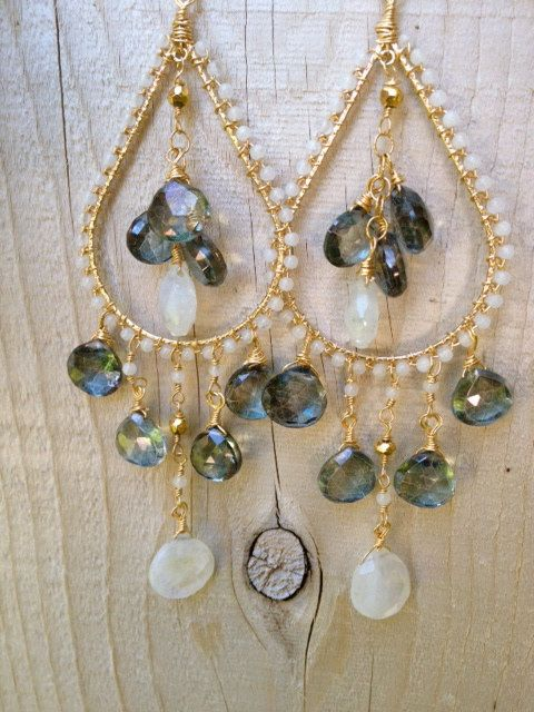 VALENTINA Dea Earrings by luxdivine on Etsy, $115.00