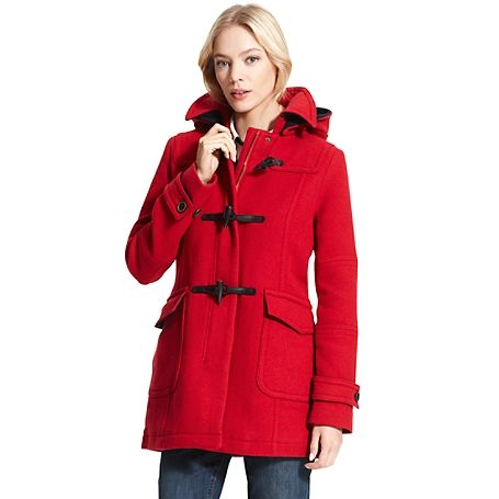 more coats shops duffle coat tommy hilfiger cus d amato classic usa. Black Bedroom Furniture Sets. Home Design Ideas