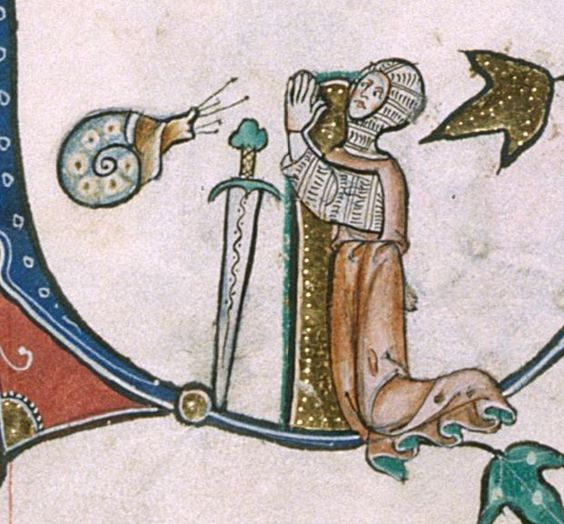 The Gorleston Psalter Date 1310-1324 Add MS 49622 Folio 162v: