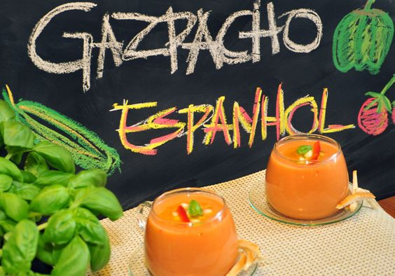 Uma pitanga na cozinha: Gazpacho Espanhol