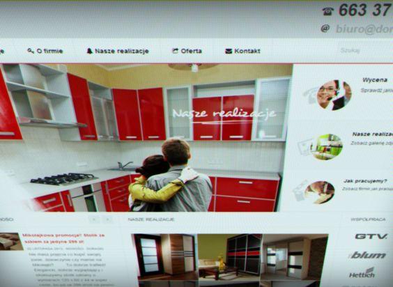 Przygotowaliśmy stronę internetową dla firmy Doragio.