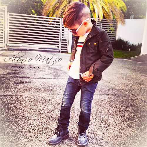 the most stylish little boy!