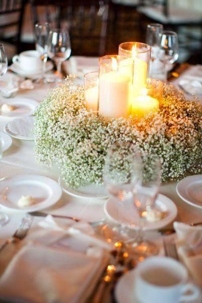 Matrimonio Simbolico Con Velas : Centros de mesa para boda con velas ¡todo inspiración