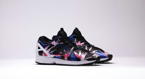 Adidas ZX FLUX NPS FLOWERS  #bestsneakersever.com #sneakers #shoes #adidas #zxflux #nps #flowers #style #fashion