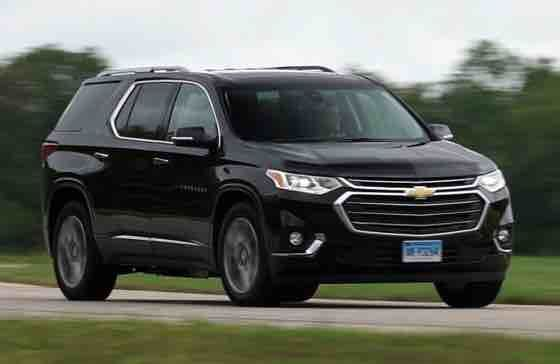 2019 Chevy Traverse Redline Black The First Generation Of Traverse