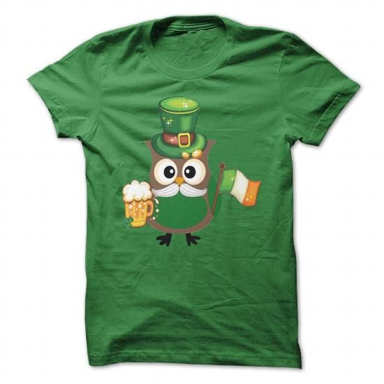 Irish-Owl #tee #shirt