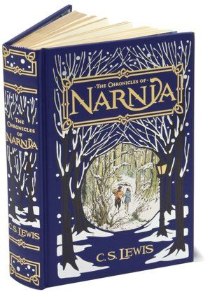 portada The Chronicles of Narnia (Barnes & Noble Leatherbound Classics) - I wish I could get this in the UK
