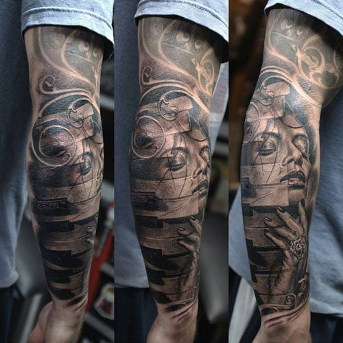 125 Best Half Sleeve Tattoos For Men Cool Designs Ideas 2019 Guide In 2020 Half Sleeve Tattoos For Guys Cool Arm Tattoos Arm Tattoos For Guys