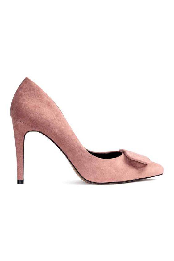 Sapatos de salto alto: Sapatos de cerimónia com salto forrado e biqueira fina…