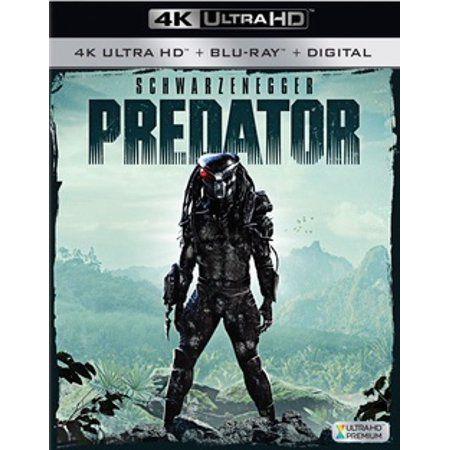 Predator 4k Ultra Hd Blu Ray Walmart Com In 2020 Predator Predator Alien Dvd