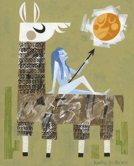 Hunting For Sun : Amanda Visell
