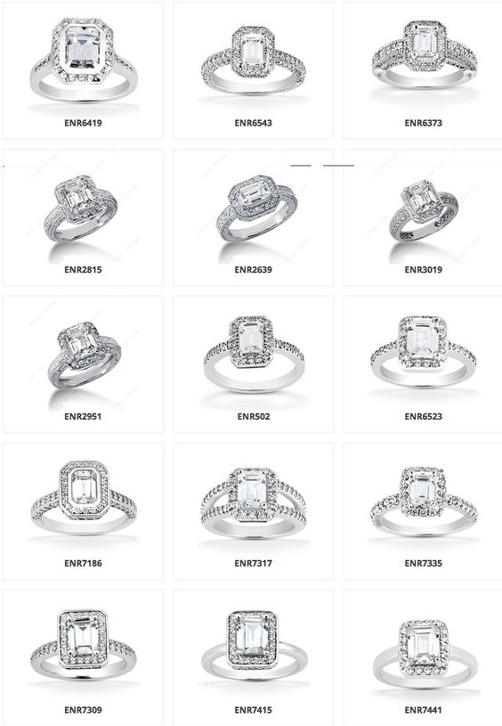 wedding ring types so many different types halo emerald engagement rings 1005