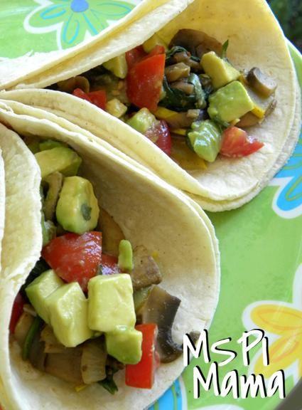 MSPI Mama: Garden Tacos with Avocado-Tomato Toss