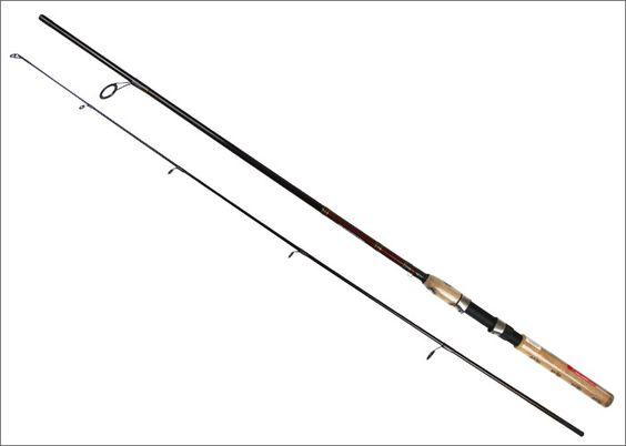 Brand Crossfire Carp Fishing Rod 2.1m Fiber glass Spinning fishing rod 2 section fishing rod Power M action F lure fishing rod