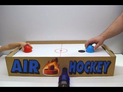 How To Make Air Hockey With Air Motor Youtube Air Hockey Air