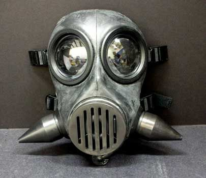 Metal Tusk Mask