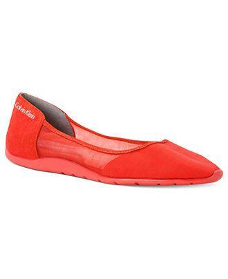 Calvin Klein Women's Lala Sport Flats - SALE & CLEARANCE - Shoes ...