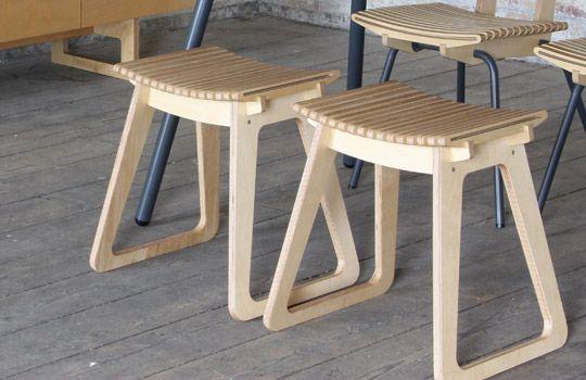 sprung ply stool
