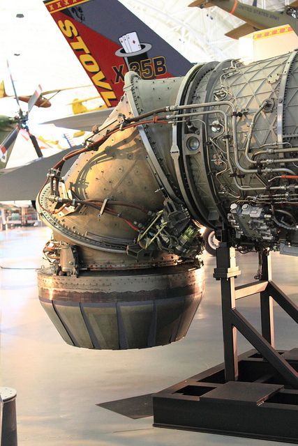 X-35 VSTOL nozzle by Arie.C, via Flickr: