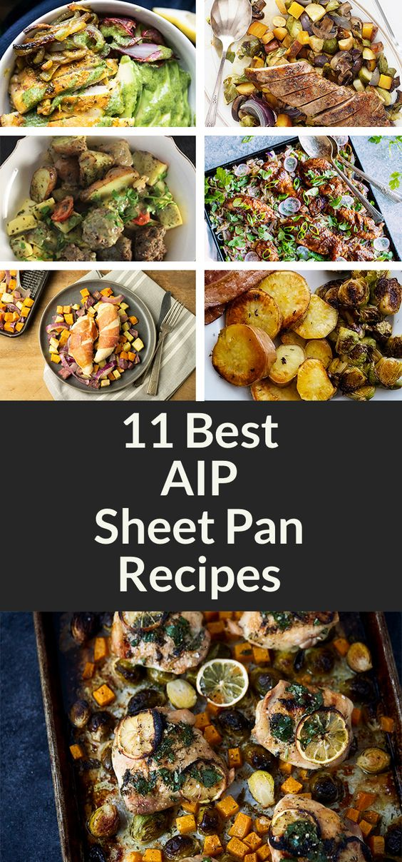 11 Nourishing AIP Sheet Pan Recipes [Paleo-Whole 30] | A Squirrel in the Kitchen