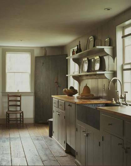 Get The Look: Proportion In Georgian Kitchens on Modern Country Style