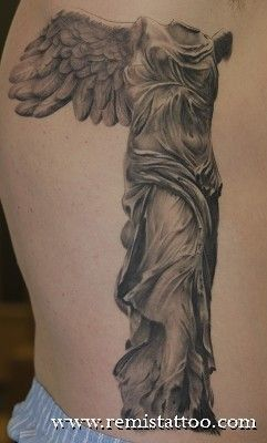 Warr angel by Remis Tattoo.