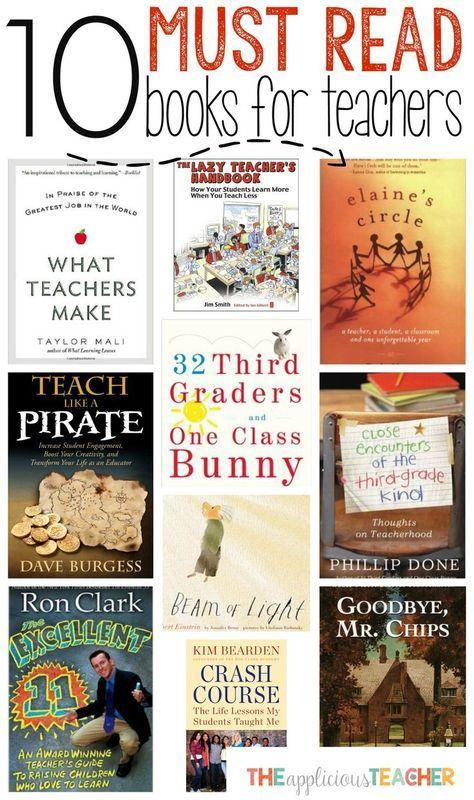 10 Must Read Books for Teachers: