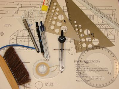 Drafting Tools Remind Me Of My High School Days When I Thought I