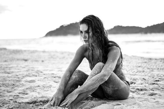 Tatiani Borga, atriz e modelo. Campeche, Florianópolis - SC. Foto: Bruna Kurth