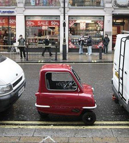 Peel 50 (de 1960), o carro mais pequeno do mundo