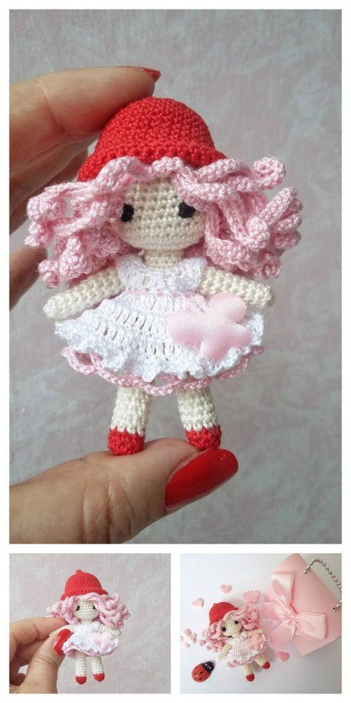 Movie Character Doll Free Crochet Patterns | 1024x512