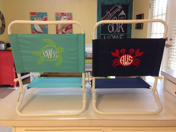 personalized beach chairs. Personalized Beach Chairs