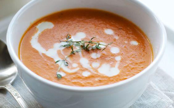 tomaat-sinaasappel-soep