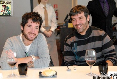 Jesús Ramiro (hijo) y Bruno Oteiza